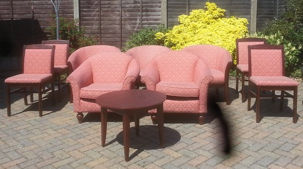 Good Condition Mahogany Furniture Set