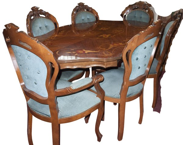 Victorian Style Repro Dining Table