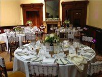 vintage lace chivari chair covers for weddings