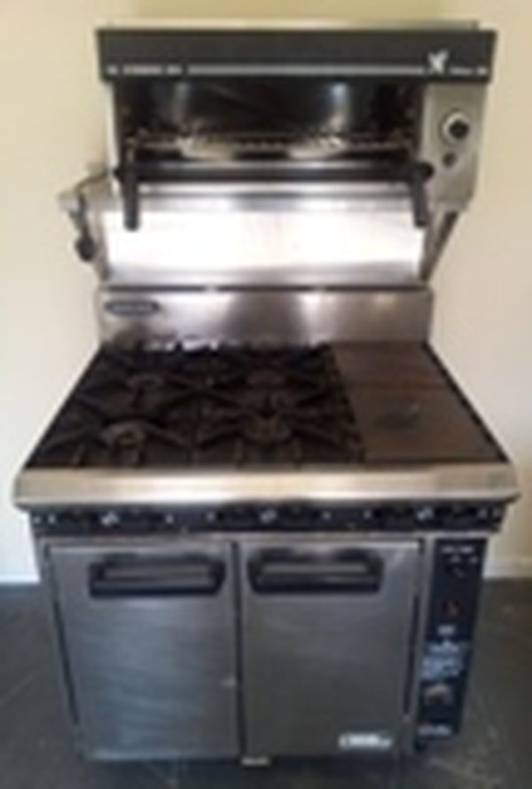 Blue Seal 6 Burner Range