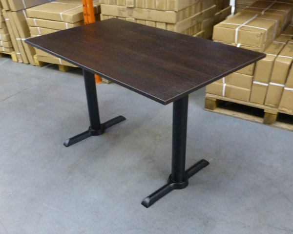 wenge rectangular restaurant table