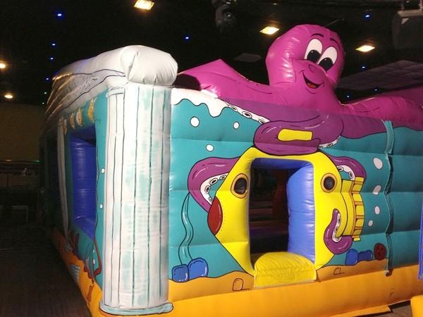 underwater themed bouncy castle