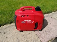 Honda EU10i generator with inverter