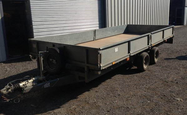 Ifor williams dropside trailer