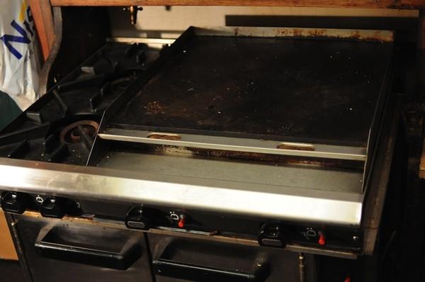 Blue Seal Gas Oven Griddle