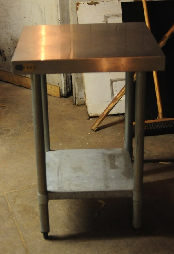 Commercial Stainless Steel Stand Shelf Table
