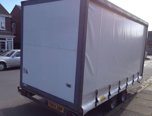 Woodford trailer