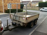 Buffalo 8 x 5 tipping trailer
