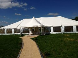 Traditional push up marquee