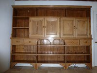 Mail sorting cabinet