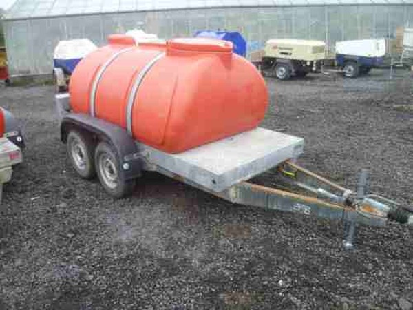 Twin wheel water bowser for sale