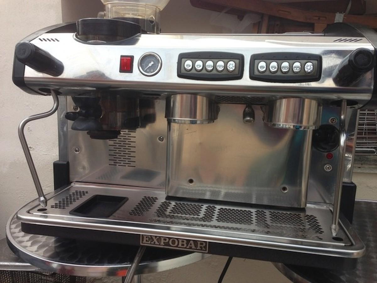 Expobar Elegance 2 Group Integrated Grinder Espresso Coffee Machine Northampton