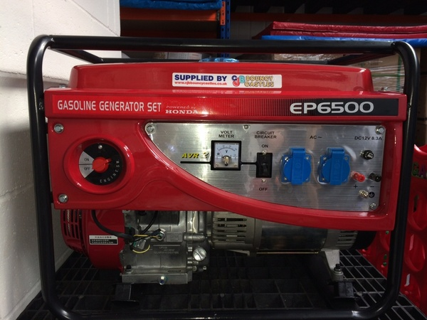 Buy Used 6.5 KVA Petrol Generator