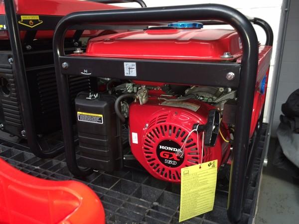 2.5 KVA Petrol Generator Honda GX160 petrol engine