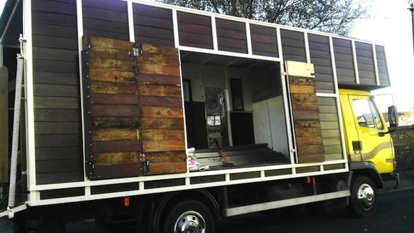 Camper Traveller Festival Trader Market Truck for sale