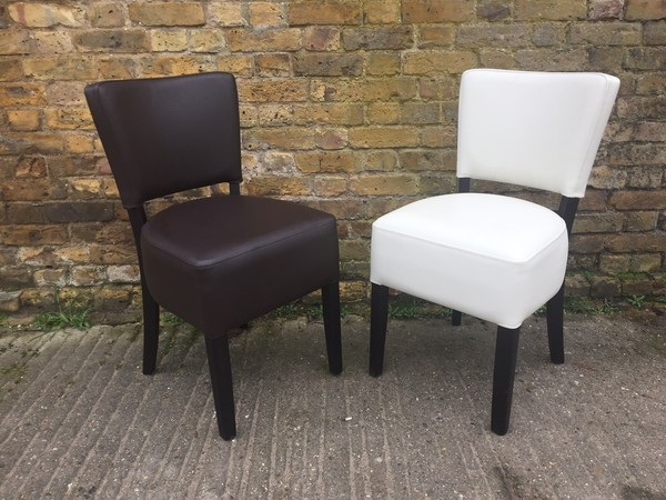 Capella Faux Leather Chairs