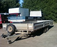 Buy Second Hand Flat Bed Dropside Trailer 22