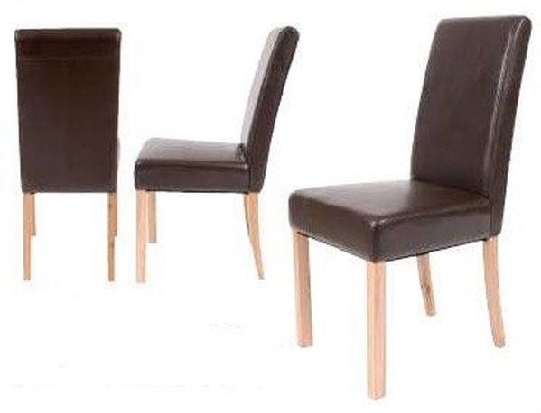 40x Abbey Leather Dining Chair - Cambridgeshire