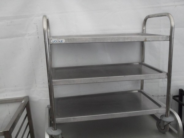 Vogue 3 Tier Trolley