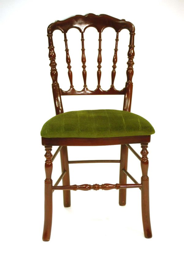 300x Mahogany Gothic Chairs with Seat Pads