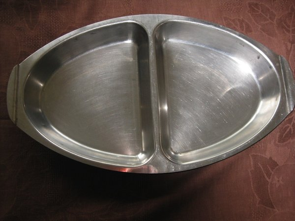 36 Second hand Oval Divided Serving Dishes