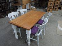 Rectangle shabby chic table