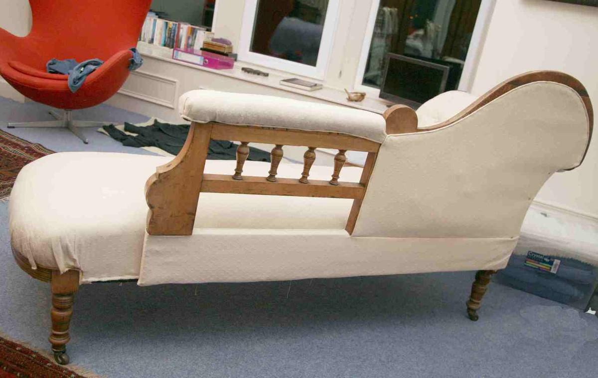Antiques Bazaar   Victorian 1837 to 1901   Victorian Chaise Longue on chaise sofa sleeper, chaise recliner chair, chaise furniture,