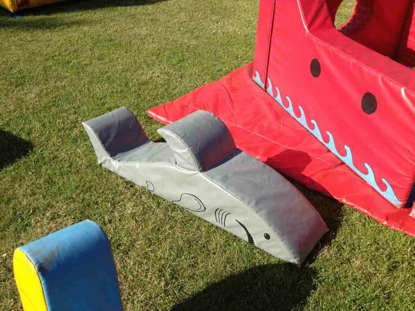 Soft play shark