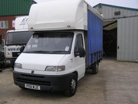 Fiat Ducato 2.8jtd 3.5t Curtainsider With Luton Box