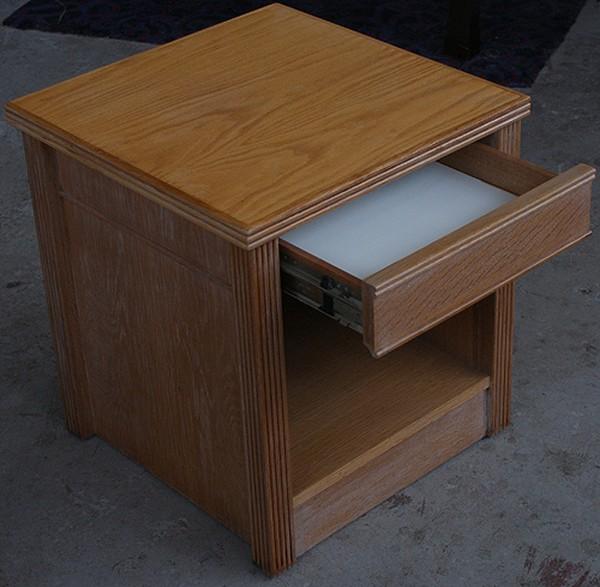 Refurbished Hotel Bedside Cabinets