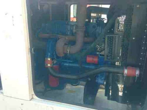 Generator with perkins engine