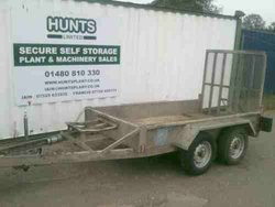 Plant or digger trailer