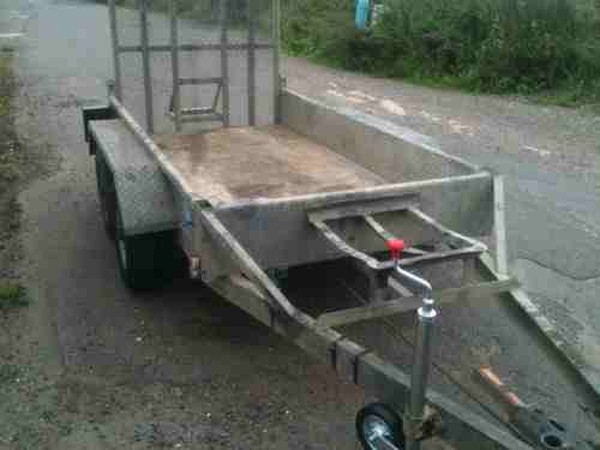 Small digger trailer for sale