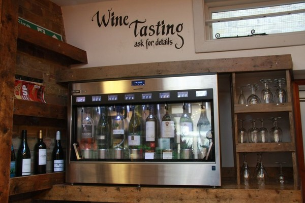 Enomatic wine tasting chiller