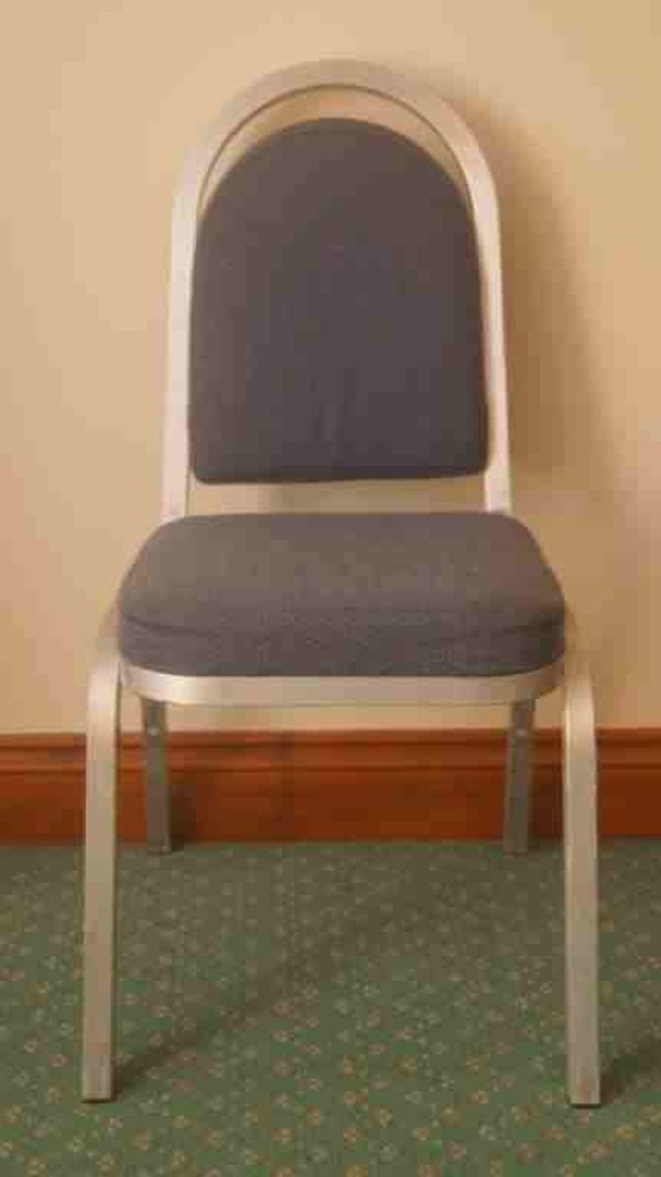 Burgess Aluminium banqueting chairs for sale