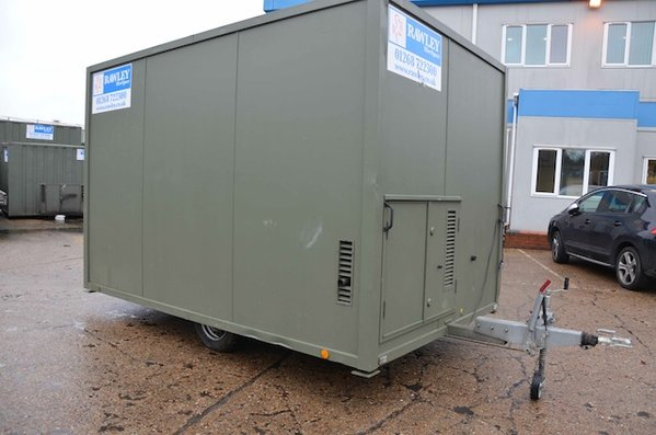 12'x7'6 Mobile Welfare Unit