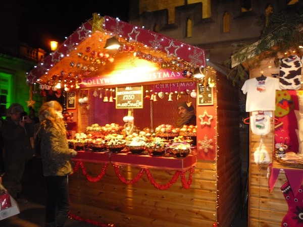Used Christmas Market Chalets