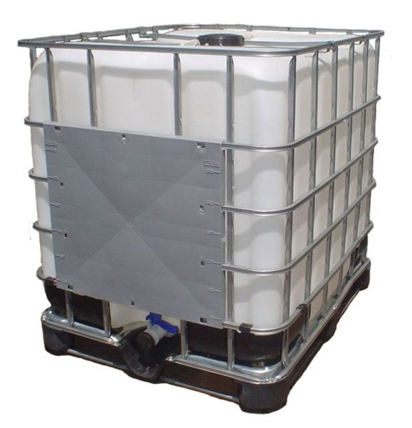 IBC 1000L water weight
