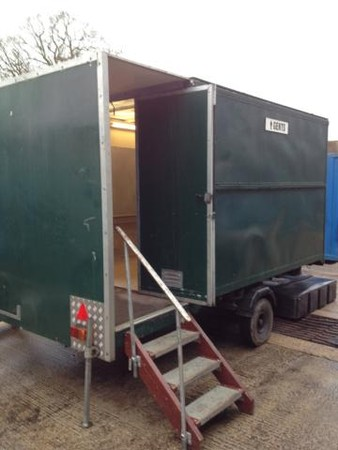 Used Urinal Trailer