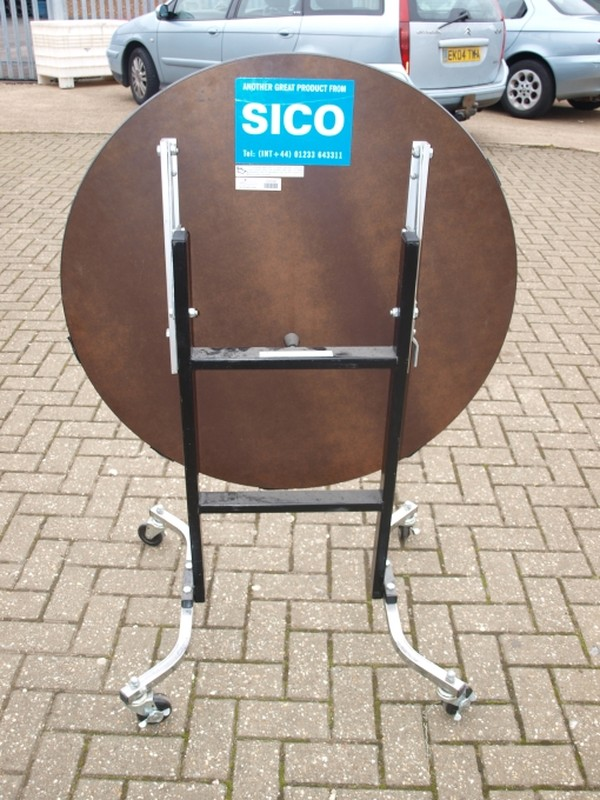 SICO Poseur Height Mobile Folding Socializer Tables