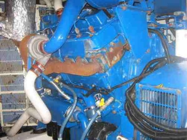 Perkins engine with Stamford Alternater