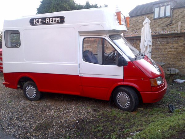 Retro Ice cream van