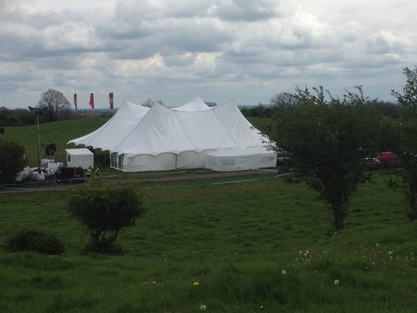 24m x 21m Top Tec Tent