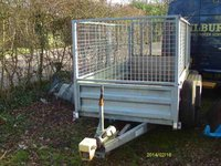 2600kg trailer with ramp