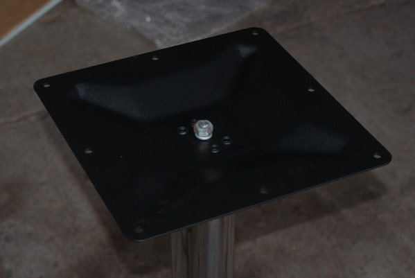 Table base fixing point