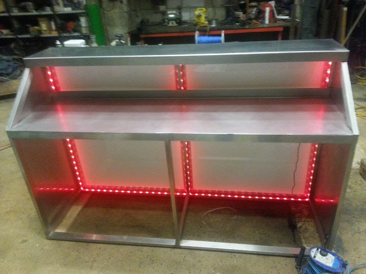 Secondhand Pub Equipment Mobile Bar Units Stainless