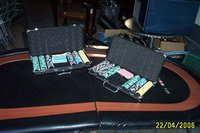 2x Redtooth Poker Tables and Cases