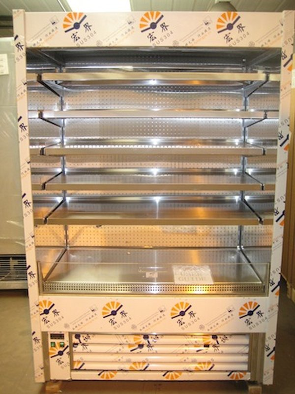 Frost Tech SD85/130 High Capacity Stainless Steel Multideck Chiller
