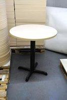 Round ash laminate tables