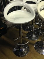Resin bar stools